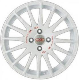 OZ SUPERTURISMO WRC WHITE+RED LETTER. 6,5x15 4x108 18