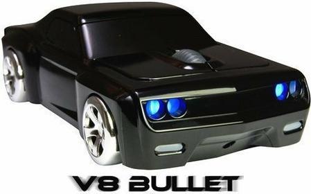 Myszka Uliczna V8 Bullet - Bezprzewodowa