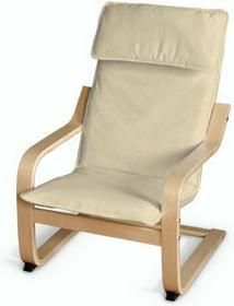 Dekoria Poduszka na fotelik dziecięcy Poäng Chenille kremowy szenil