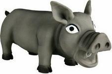 Trixie Lateksowa zabawka piszcząca świnia - gryzak dla psa - różne kolory i wymiary TX-3