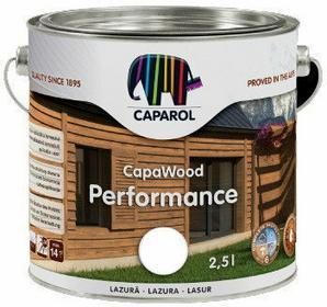 Caparol Lazur do drewna CapaWood Biały Kremowy 2.5L