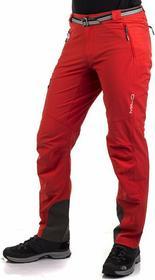 Milo Spodnie trekkingowe męskie Vino - czerwony