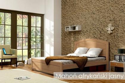 Laris Polska Łóżko lite drewniane Mars 120x200