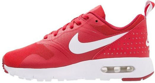 Nike Sportswear AIR MAX TAVAS Tenisówki i Trampki university red/white/gym red 8