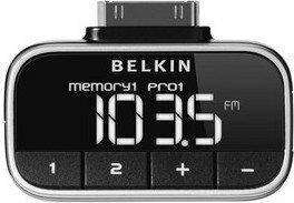 Belkin NADAJNIK RADIOWY (FM TRANSMITTER) TUNEFM PRZENOŚNY F8Z179EASTD