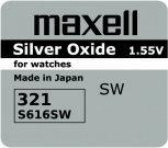Maxell bateria srebrowa mini 321 / SR 616 SW