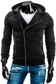 Czarna męska kurtka przejściowa (tx0976) - czarny