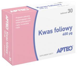 Synoptis Kwas foliowy APTEO 30 szt.