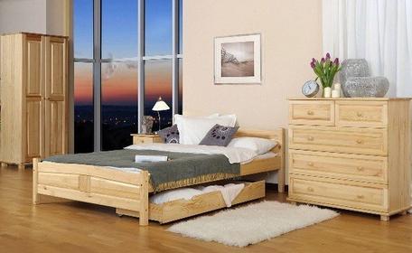 Łóżko JULIA 160x200 sosna