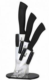 Zestaw noży ceramicznech PRADEL BCC004 / brak / stojak pleksi