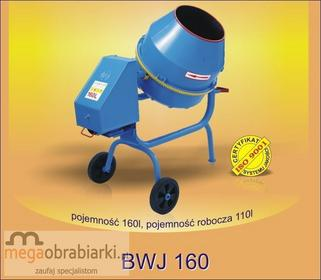 AGRO-WIKT Betoniarka wolnospadowa BWJ 160