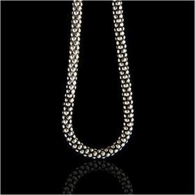 AnKa Biżuteria Srebrny łańcuszek 75cm świetny samodzielnie i do wisiorków z mark