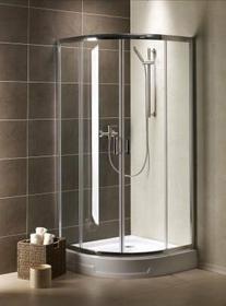 Radaway Premium Plus A 100x100 szkło satinato