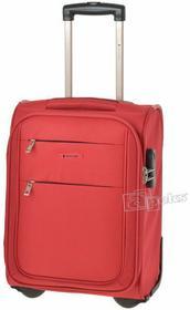 Puccini Camerino walizka podróżna kabinowa WizzAir - czerwony EM-50307 D 3