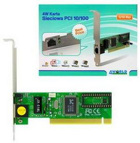 4World PCI 10/100BaseTX (RJ45) 04155