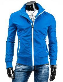 Dstreet Przejściowa kurtka męska niebieska (tx0863)