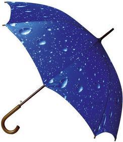 Impliva Duży parasol krople deszczu ZLA-16-R