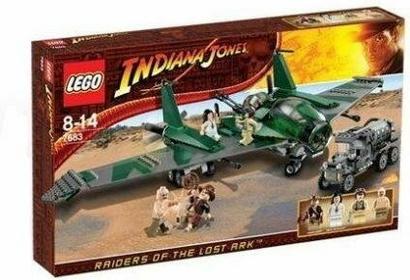 LEGO Lot samolotem 7683
