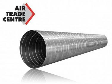 Spiro ATC Kanał (rura) z blachy ocynkowanej (3mb) 200mm (SPR-OC-200-3) SPR-OC-20