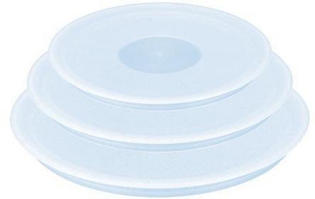 Tefal Zestaw 3 pokrywek plastikowych L90192