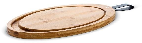 Rosendahl GRAND CRU Deski bambusowe Deska do krojenia z Rantem i Uchwytem - Owalna