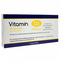 Langsteiner Vitamin D3 dla dorosłych 30 szt.