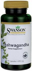 SWANSON Ashwagandha 450mg 100 szt.