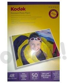 Kodak Papier fotograficzny premium 4R 230g 50 arkuszy