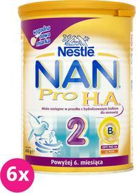Nestle 6x NAN PRO H.A. 2 400g