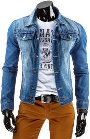 Dstreet Kurtka męska jeansowa (tx0998)