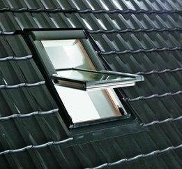 Roto FRANK Okno dachowe Designo R45 H, pakiet szybowy energooszczędny R45H5