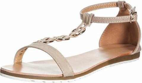 Enza Nucci sandały beżowy LB1814