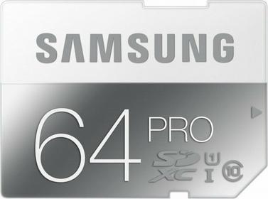 Samsung SDXC Pro Class 10 64GB