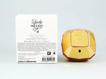 Paco Rabanne Lady Million Absolutely Gold woda perfumowana 80ml TESTER