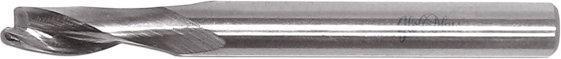 GLOBUS Frez pełnowęglikowy wykańczający do PCV -prawe Z=1 D=6x15-25/S=8/H=80 LS070-0006-0003