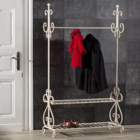 Dekoria Garderoba otwarta Frederic metal 110x45x185cm, 110x45x185cm,