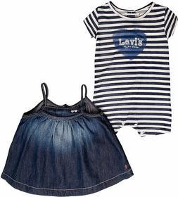 Levis R SET Sukienka jeansowa bleu NF33504