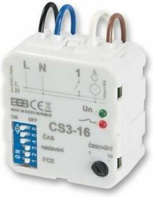 Elektrobock Wielofunkcyjny wyłącznik Czasowy CS3-16. 8 funkcji.