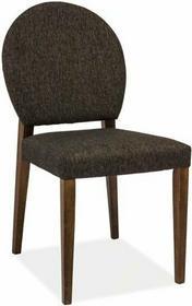 Signal Krzesło drewniane Aldo Orzech ciemny