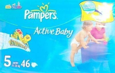 Pampers Active Baby 5 Junior 52 szt.