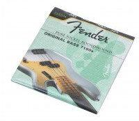 Fender 7150M pure nickel struny do gitary basowej 45-105