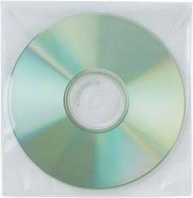 Q-Connect Koperta NA CD/DVD Z KLAPKĄ PP 50 SZT.