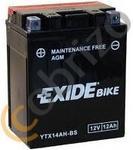 Exide AGM YTX14AH-BS 12Ah 200A