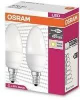 Osram Żarówki LED E14 6 W = 40 W 2700 K 4052899947566