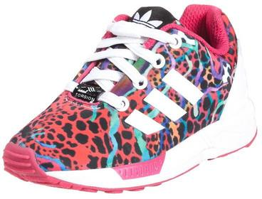 adidas Originals ZX FLUX EL Tenisówki i Trampki pink/white M19403