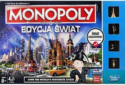 Hasbro Monopoly - Gra Here and now Edycja Światowa B2348