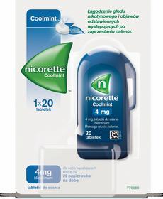 McNeil Nicorette Coolmint 4mg 20 szt.