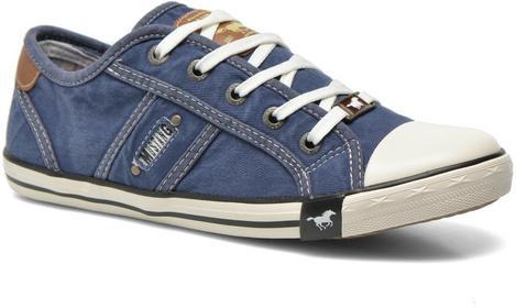 Mustang Tenisówki i trampki shoes Flaki Dziecięce niebieski