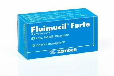 ZAMBON Fluimucil Forte 600mg 10 szt.