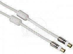 Hama kabel antenowy 120dB filtr ferrytowy, pozłacane wtyki 3m Proclass